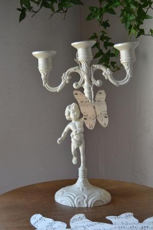 chandelier ange 3 branches boutique patinesetbrocante. Black Bedroom Furniture Sets. Home Design Ideas